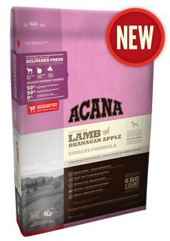 Acana Singels Lamb&Okanagan Apple Dog 2KG