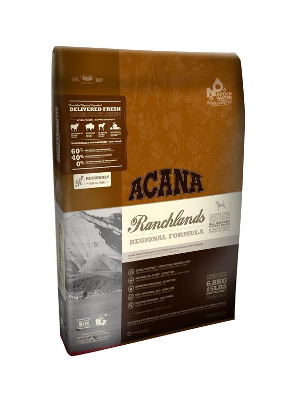Acana Regionals - Ranchlands Dog 11,4KG