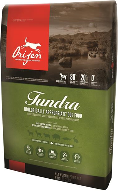 Orijen Whole Prey Tundra 6KG