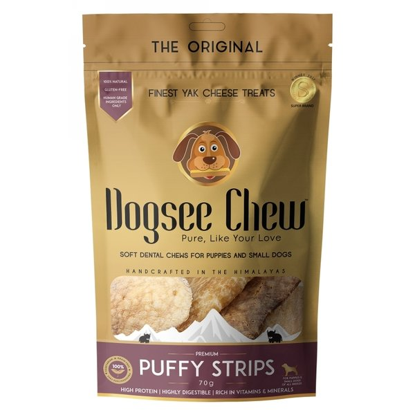 Dogsee Chew Puffie Strips 70GR