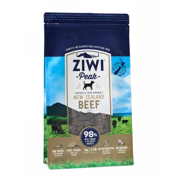Ziwi PEAK DOG GENTLY AIR-DRIED Beef 1 kg.
