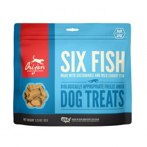 Orijen Freeze-Dried Treats Dog 6 Fish 92 gr.